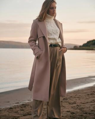 Wool Blend Over Coat